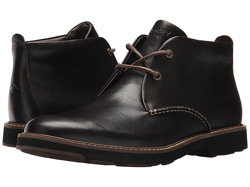 Sperry Lace-Up Chukka (Dark Brown) Men