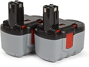 2 x ExpertPower 24v 3000 mAh Ni-MH Battery for Bosch BAT030 BAT031 BAT240 BAT299