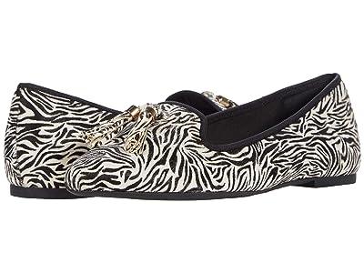 Hush Puppies Sadie Tassel Slip-On (Zebra Haircalf) Women