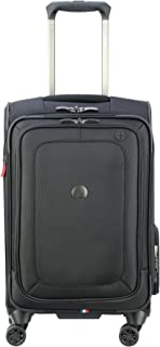Cruise Lite Softside Carry-On Exp. Spinner Suiter Trolley, BLACK