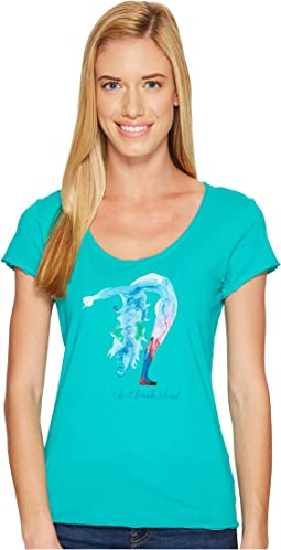 Life is Good - Bend Yoga Smooth Tee