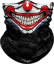 Obacle Skull Face Mask Half for Dust Wind Sun Protection Seamless 3D Tube Mask Bandana for Men Women Durable Thin Breathab...
