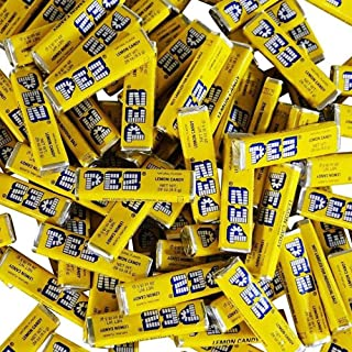 Pez Candy Single Flavor 2 Lb Bulk Bag (Lemon) Yellow Candy ââ¬Â°Ãâº_