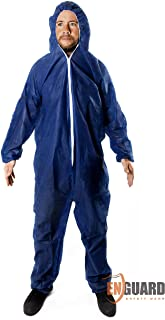 Body Coverall Diagnostic Suit Blue Washable Reusable Personal Protective PPE Kit