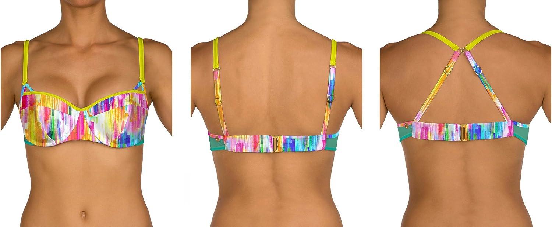 B Swim U80 Prima Demi Bikini Top