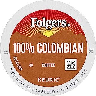 Sponsored Ad - Folgers 100% Colombian Medium Roast Coffee, 96 Keurig K-Cup Pods