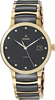 Unisex Centrix Diamond Stainless Steel Swiss Automatic Watch