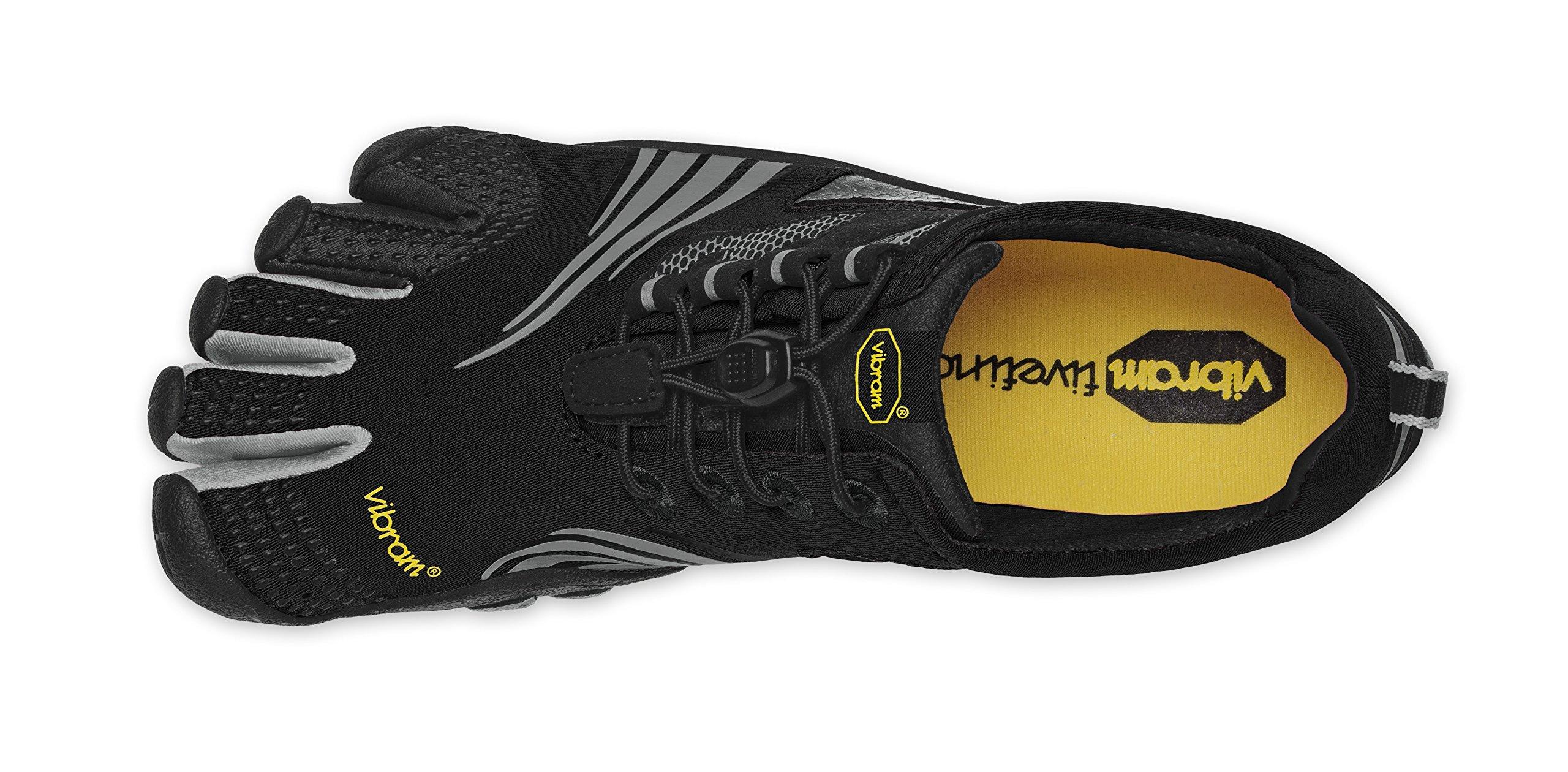 Vibram FiveFingers KMD Sport LS Black/Silver/Grey 14M3602 (Size: 41)