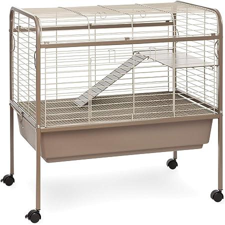 Prevue Hendryx Cocoa & Cream Small Animal Cage Stand