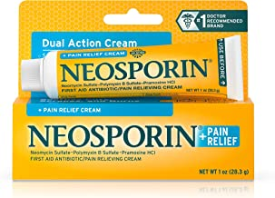 Neosporin Pain Relief Dual Action Cream, 1 Oz