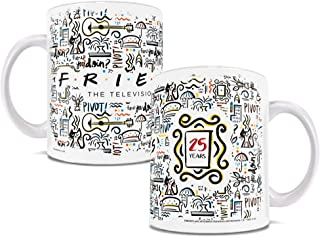 Friends the Television Show - 25 Years - Tea or Coffee Mug - OFFICIAL MERCHANDISE - Perfect for Gifting or Collecting - by Trend Setters Ltd