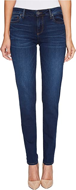 KUT from the Kloth Diana Skinny in Model w/ Dark Stone Base Wash