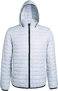 2786 Womens/Ladies Honeycomb Padded Hooded Jacket