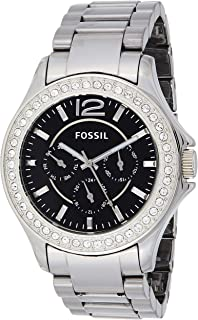 Fossil Women's Quartz Watch, Analog Display and Ceramic Strap CE1067-F