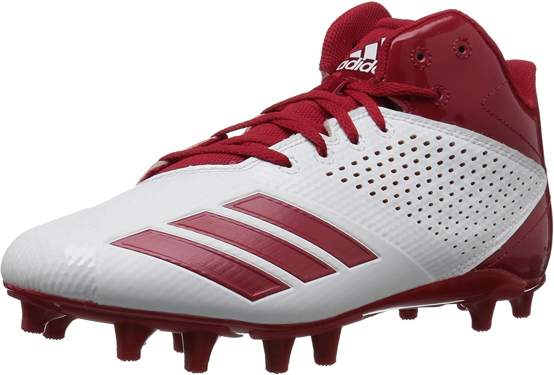 Adidas herren 5 Star Low & Mid Tops Schnuersenkel Baseball Schuhe Rot Groesse 10 US  44 EU