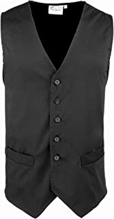Premier Mens Hospitality/Bar/Catering Waistcoat (Pack of 2)