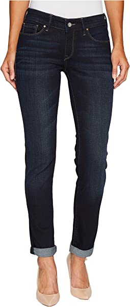 Mavi Jeans Emma Slim Boyfriend in Deep Brushed Tribeca