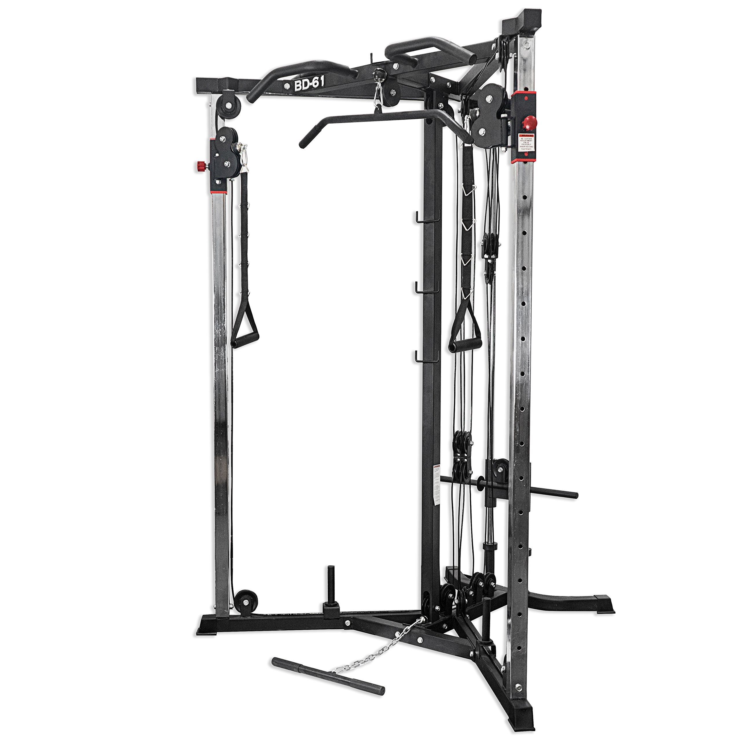 Valor Fitness BD-61 Cable Crossover Station by: Amazon.es ...