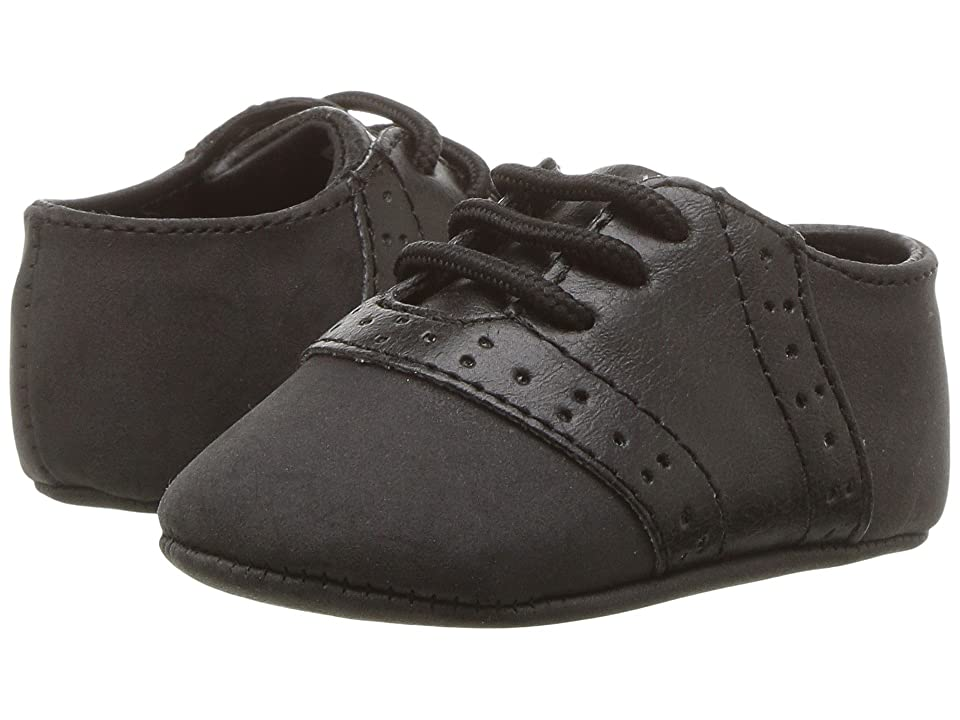Baby Deer Soft Sole Oxford (Infant) (Black) Boy