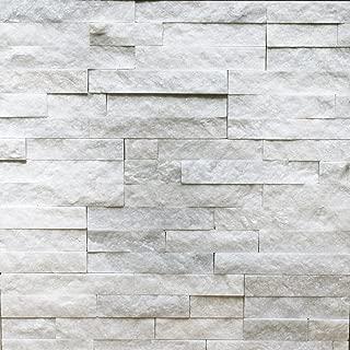 Sample Of Natural Ledgestone Wall Panel Canyon White