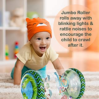 Splashin'kids Infant Toys Beginner Crawler Ball Drop Maze Tummy Time Activity Center Early Development Jumbo Roller Rattle Toy Baby Toys for 6 Months 1 2 3 Year olds