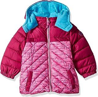 Pink Platinum Baby Girls' Active Puffer Jacket