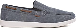 Chaussures bateau en toile pour homme - Pointure 39 - 40 - 40 - 40 - 40 - 42 - Chaussures décontractées - À enfiler ou à l...