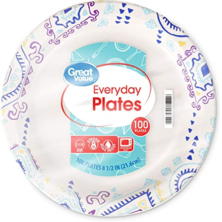 """10 x New Year Paper Party Plates plates Bubbly New Year 7/"""" size GREAT VALUE"""