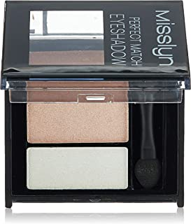 Misslyn Perfect Match Eyeshadow No.35 Brown Peach and White