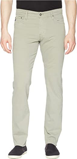 AG Adriano Goldschmied - Graduate Tailored Straight Sueded Stretch Sateen