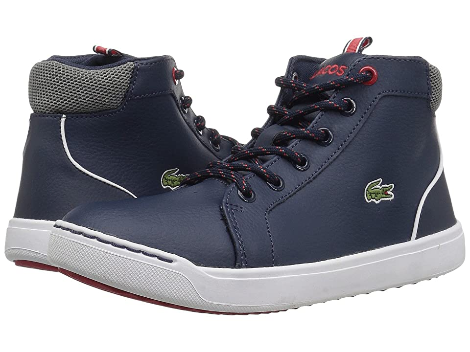 Lacoste Kids Explorateur 118 1 (Little Kid) (Navy/Grey) Kid