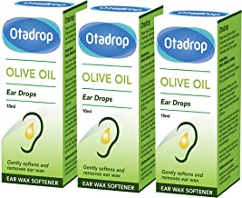 Otadrop Ear Wax Remover Olive Oil Drops 10 ml - Pack of 3