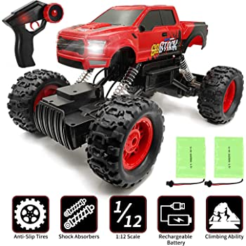 Rock Crawler Ferngesteuerter RC Auto Offroad Car Kinderspielzeug Xmas Geschenk