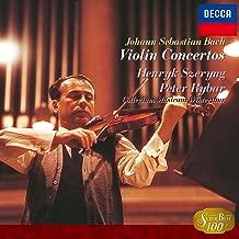 バッハ:ヴァイオリン協奏曲第1番&第2番