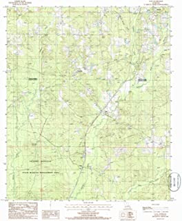 YellowMaps Clay LA topo map, 1:24000 Scale, 7.5 X 7.5 Minute, Historical, 1985, Updated 1986, 26.8 x 21.9 in