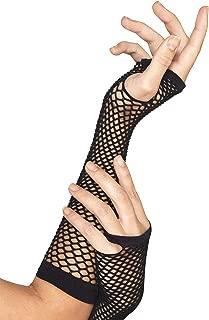 Smiffys Fishnet Gloves, Long