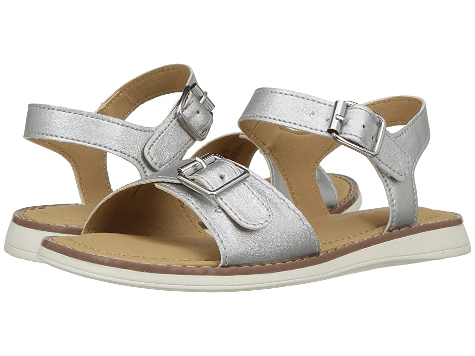 Hanna Andersson Caty (Toddler/Little Kid/Big Kid) (Silver) Girls Shoes