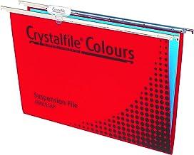 CRYSTALFILE(R) 111221Y Suspension File, RED Complete 10PK