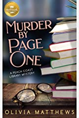 Murder by Page One: A Peach Coast Library Mystery from Hallmark Publishing (Peach Coast Library Mysteries Book 1) Kindle Edition