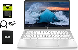 """2021 Newest HP Chromebook 14"""" HD Laptop for Business and Student, Intel Celeron N4000, 4GB RAM,..."""