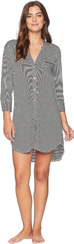 Vivian Knit Stripe PJ Top