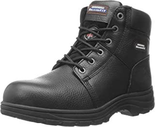 Skechers For Work 77009 Workshire Relaxed Fit Work Steel Toe Boot