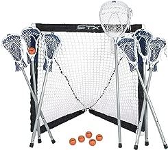 FiddleStix 7 Piece Game Set Lacrosse Ministicks