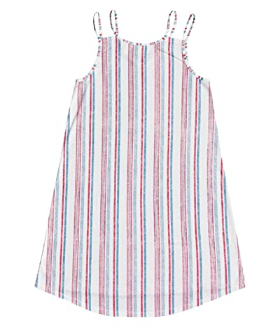 Roxy Kids Be My Love Dress (Little Kids/Big Kids) (Blue Heaven Stars Stripes) Girl