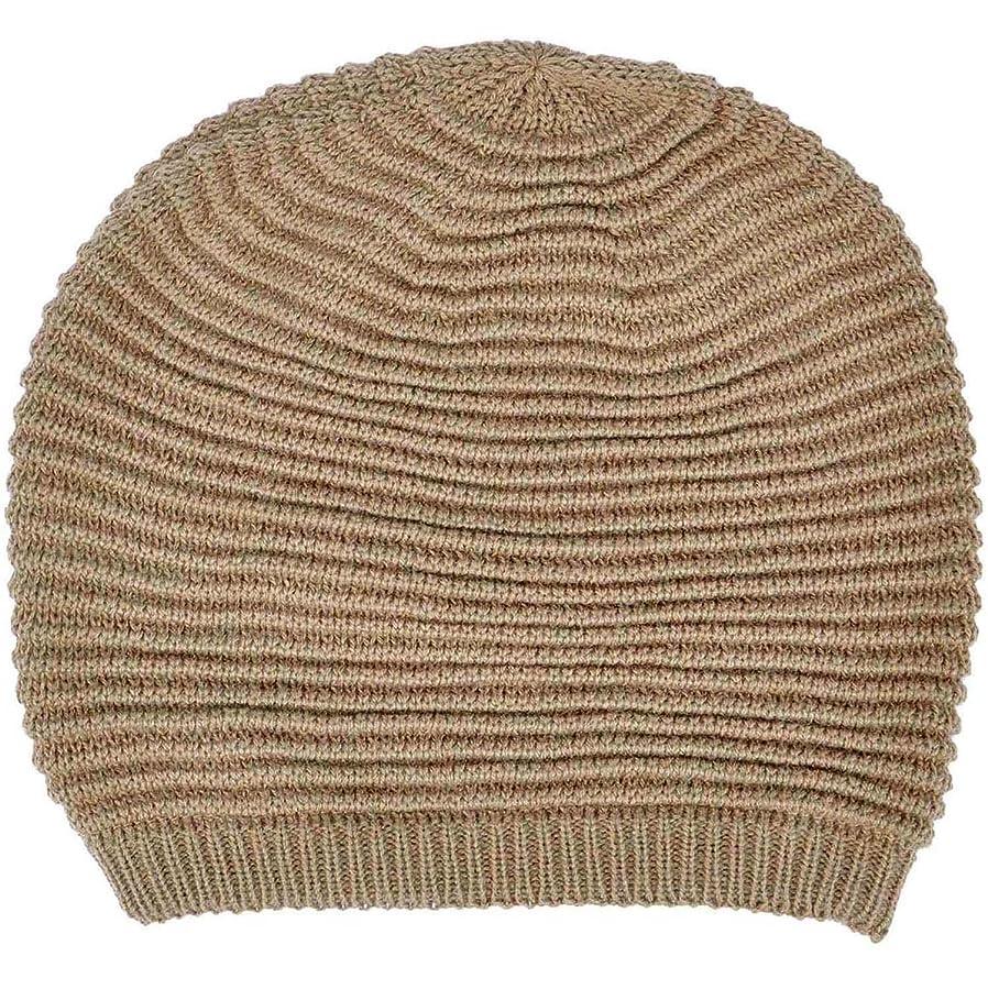 打撃ビスケットマラドロイトシンプルさ冬Slouchy Knit Beanie帽子レディースorメンズの