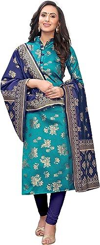 women s floral woven cotton silk dress materia