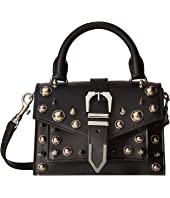 Versus Versace - Mini Top-Handle+Studs Vitello Opaco