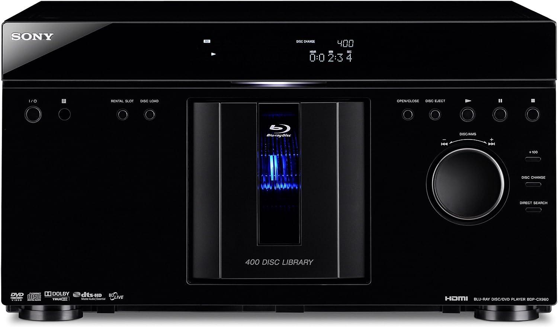 Sony BDP-CX960 400 Disc MegaChanger Black Blu-ray New popularity DVD Philadelphia Mall