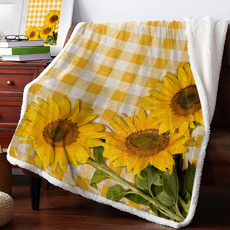 Sherpa Fleece Blanket Ultra Clearance SALE! Limited time! Soft Fresh shop Throw Sunshine Su
