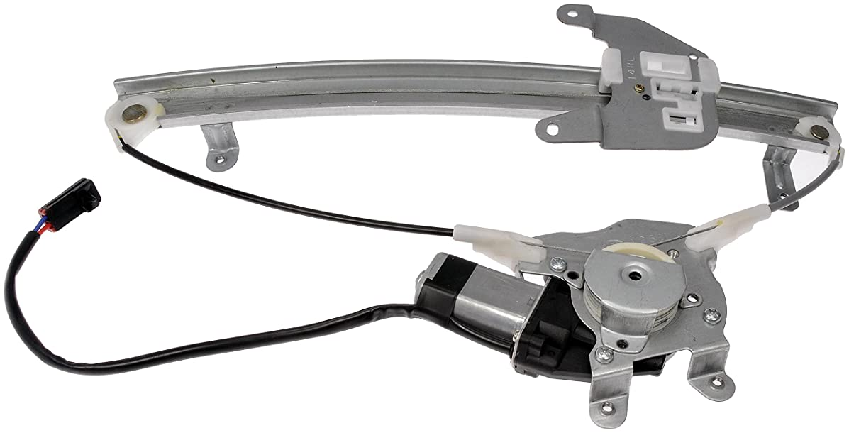 Dorman 741-608 Rear Driver Side Replacement Power Window Regulator with Motor for Nissan Sentra